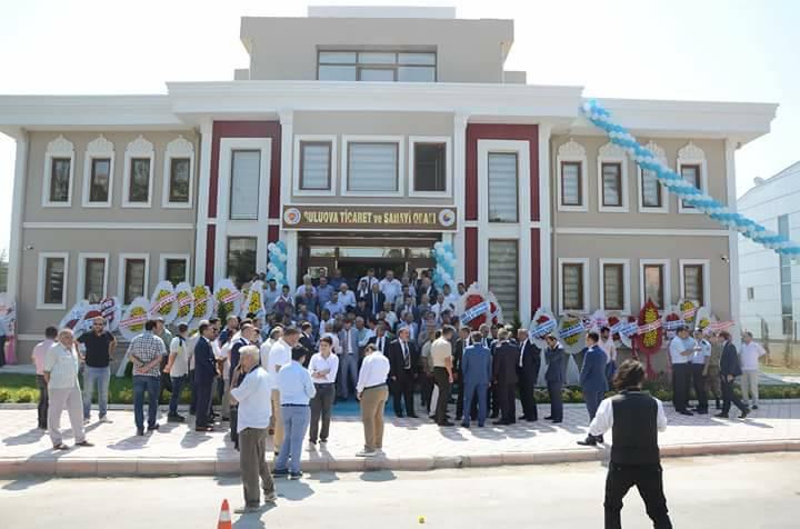 Suluova Ticaret ve Sanayi Odası yeni hizmet binasında