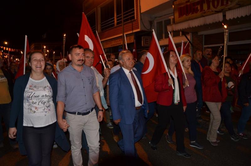 30 Ağustos Zafer Bayramı 95. Yıl kutlamaları Gümüşhacıköy