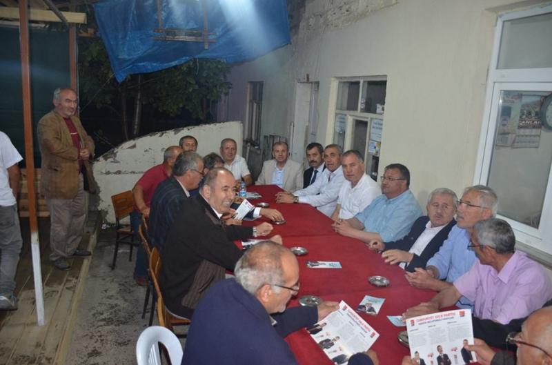 CHP milletvekili adayları Taşova Merkez ve köyleri ziyaret etti