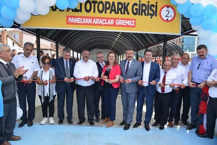 Merzifon'da katlı Otopark'ın açılışı yapıldı