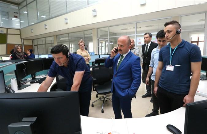 """Vali Varol """"Yeni Nesil 112 Projesi""""'ni Yerinde Denetledi"""