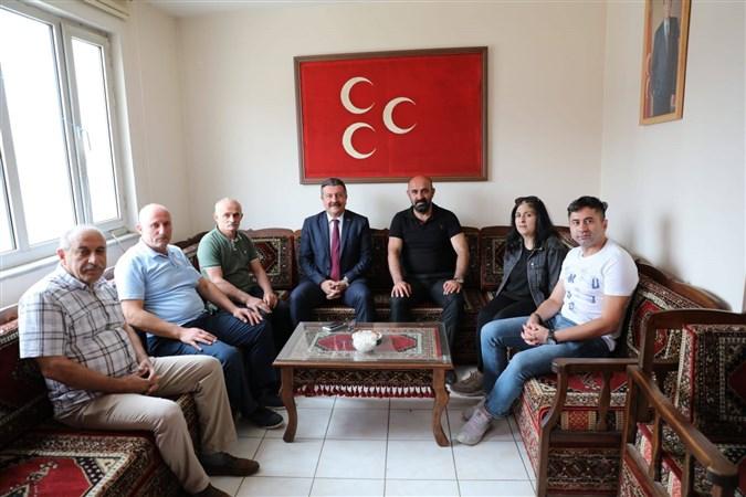 Merzifon Belediye Başkanı Alp Kargı'dan Merzifon'daki Siyasi Partilere Ziyaret