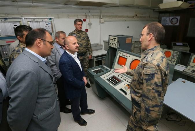 Amasya Valisi Dr. Osman Varol Merzifon Hava Radar Mevzi Komutanlığı'nı Ziyaret Etti
