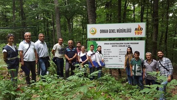 Orman Sağlıkçıları Amasya'da Eğitimde