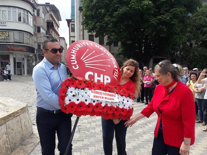 Amasya'da CHP'nin 96'ncı Kuruluş Yıl Dönümü Kutlandı