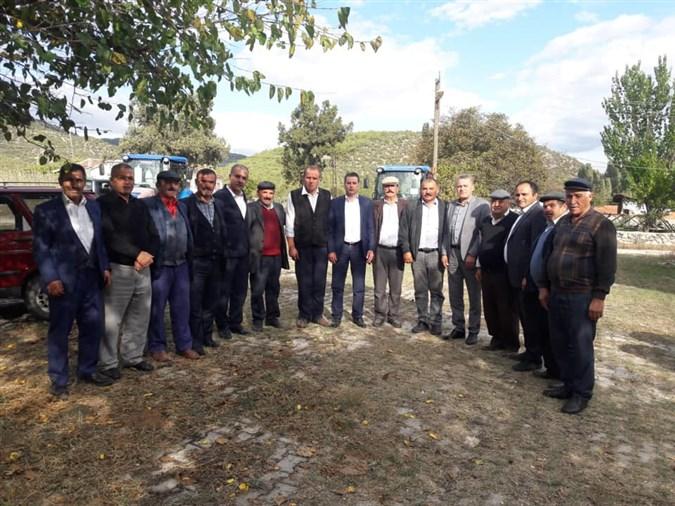 Cumhuriyet Halk Partisi Merkez İlçe Başkanlığı Köy Ziyaretlerini Sürdürüyor