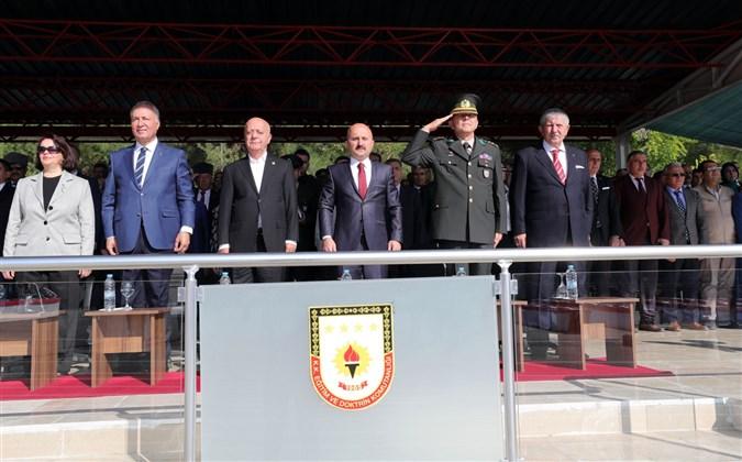 Amasya 15. Piyade Eğitim Tugay Komutanlığı'nda Yemin Töreni