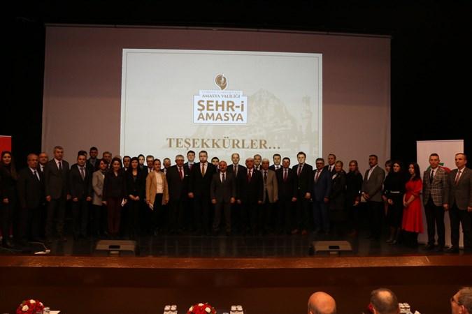 Amasya'da  OKA 2019 Yılı Mali Destek Programı Kapsamındaki 21 Projenin Tanıtım Toplantısı Gerçekleştirildi
