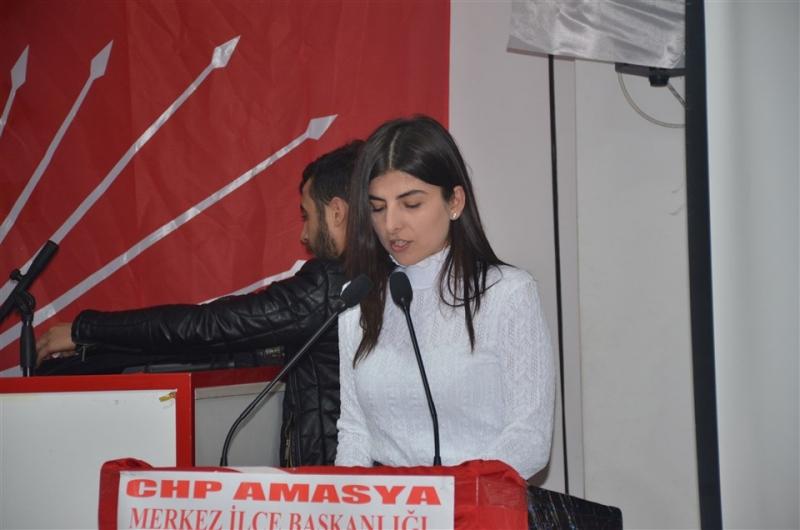 Ferahoğlu,CHP Amasya Merkez İlçe Başkanı Seçildi