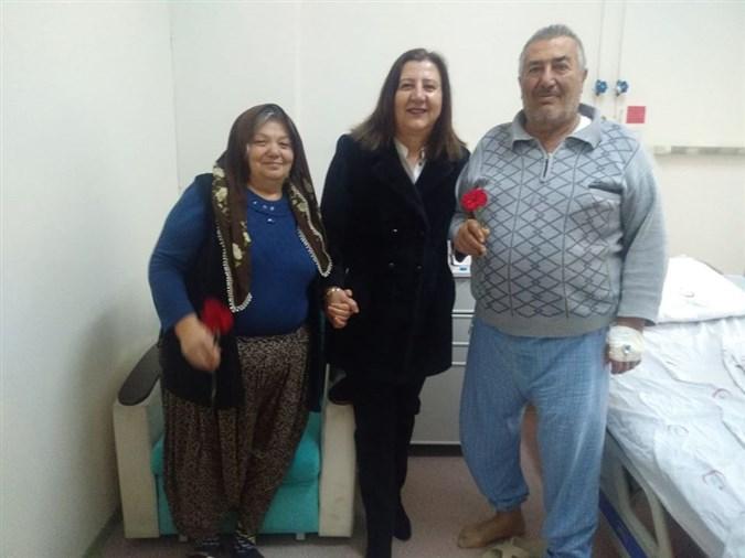 Başkan Özyol'dan Hastane Ziyareti