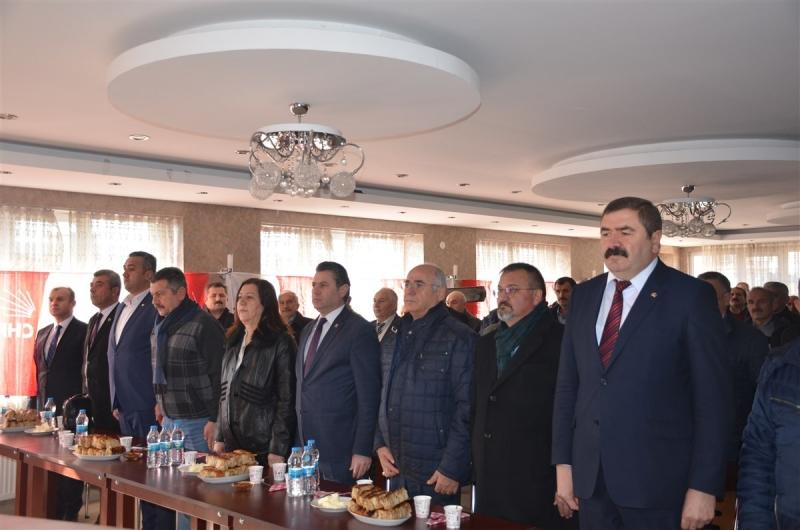 Hamamözü CHP'de,Sedat Bağ Güven Tazeledi