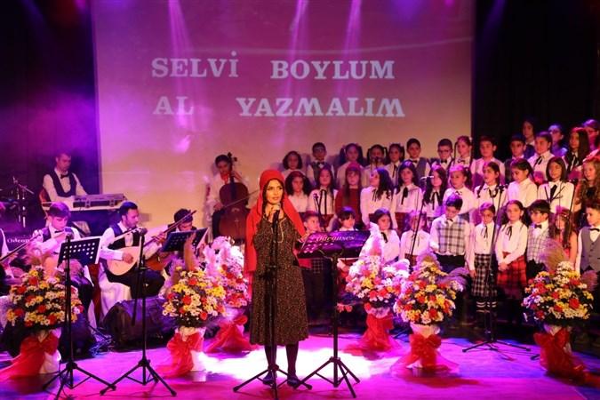 Merzifon Belediyesi Çocuk Korosu'ndan Türk Halk Müziği Konseri