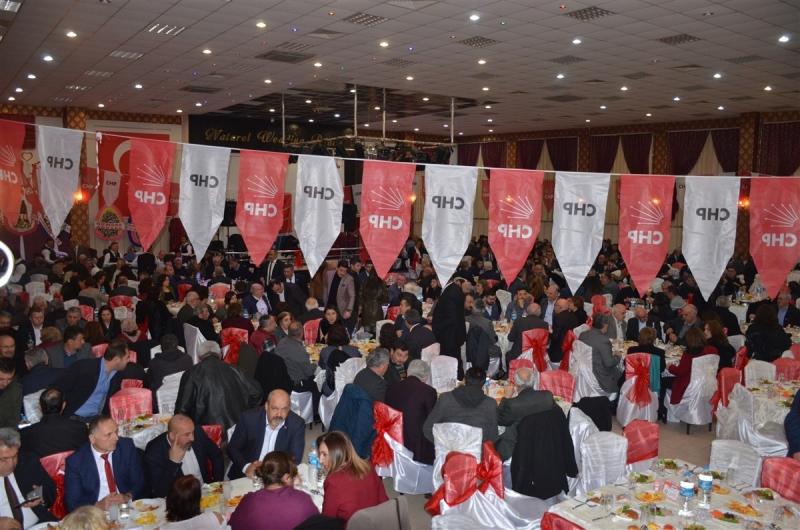 Gümüşhacıköy CHP Birlik-Beraberlik ve Dayanışma Gecesi Düzenlendi