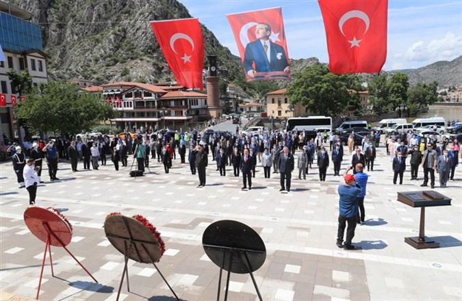12-22 Haziran Amasya Uluslararası Atatürk Kültür ve Sanat Festivali Resmi Açılış Töreni Coşkuyla Gerçekleştirildi