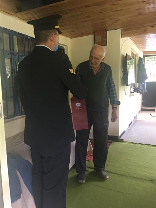Şehit Babalarına Babalar Günü Ziyareti