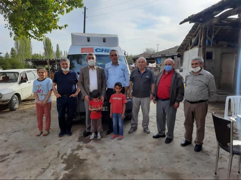 Amasya CHP Heyetinden Köy Ziyaretleri