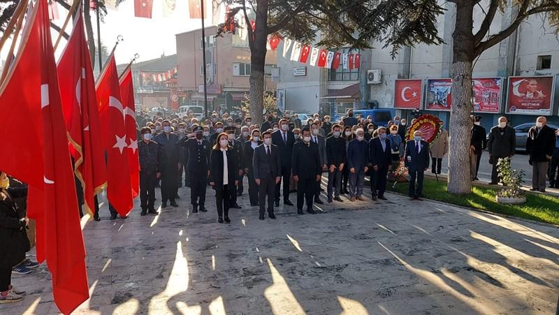 Ulu Önder Atatürk 82. Ölüm Yıl Dönümünde Gümüşhacıköy'de Anıldı