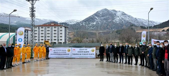 Amasya'da Orman Haftasında 30 Bin Fidan Toprakla  Buluşturuluyor