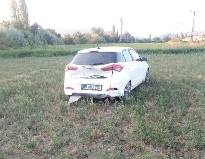 Amasya Suluova kaza 3 yaralı