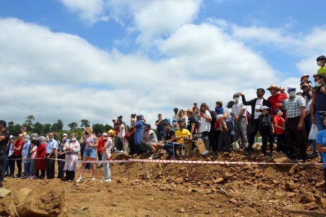 Tokat'ın Niksar ilçesinde 4'sü düzenlenen off-road yarışları