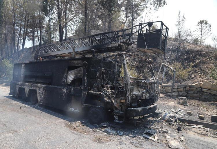 Yangınlardan Kalan Acı Tablolar