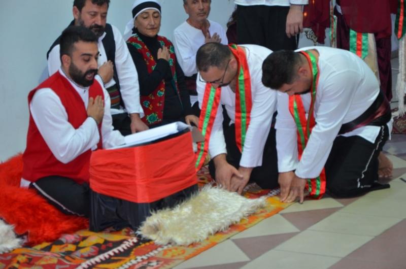 Gümüşhacıköy Belediyesinden Semah Gösterisi