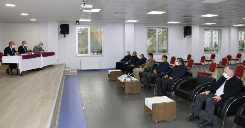 1000 Okul Projesi Kapsamın Bilgilendirme Toplantısı Düzenlendi