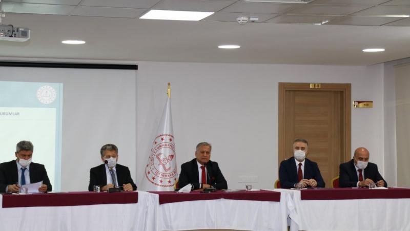 2020-2021 Eğitim Öğretim Yılı İl Millî Eğitim Danışma Kurulu Toplantısı Yapıldı