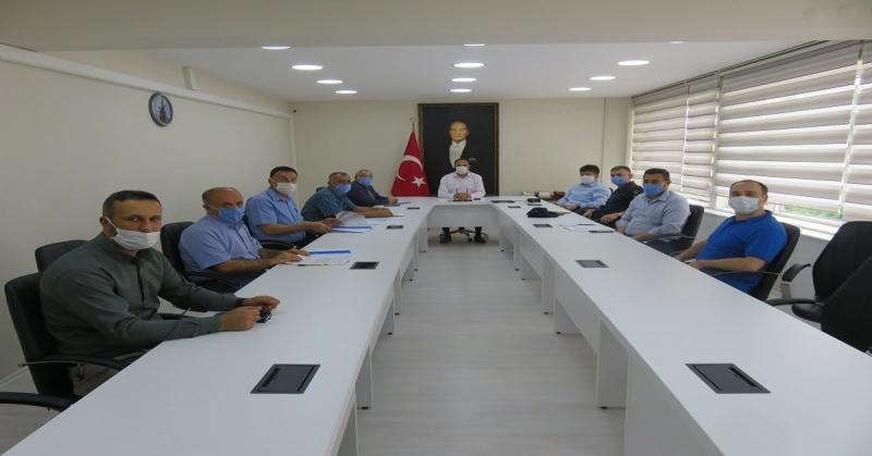 2020 Yılı Kurban Hizmetleri Komisyon Toplantısı Yapıldı