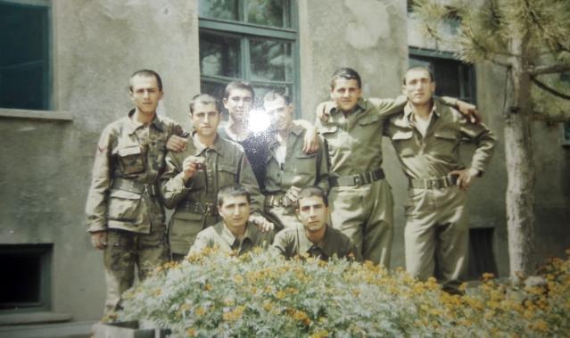 Malazgirt'te Askerlik Yapan Arkadaşlar, 30 yıl aradan sonra Amasya da