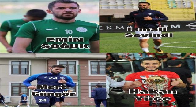 Amasyaspor'da transferler devam ediyor