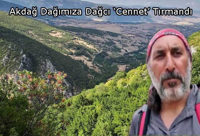 Dağcı Cennet  Akdağ Dağına Tırmandı!..