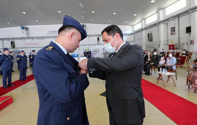 Valimiz Masatlı Azerbaycan Savaş Hizmetleri Madalyasını Tevcih Etti
