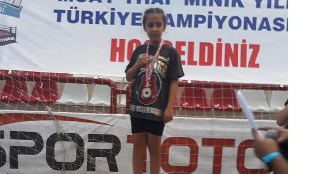 Amasya lı İrem Su Lafçı, Yıldızlar Türkiye Şampiyonu Oldu
