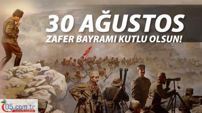 30 AĞUSTOS ZAFER BAYRAMI'MIZ KUTLU OLSUN...