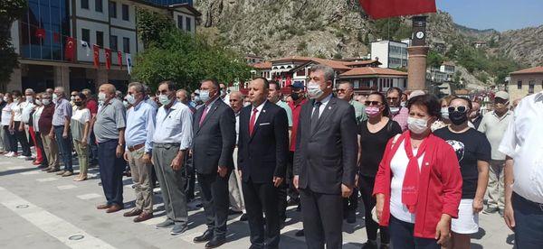 CHP Amasya İl Başkanlığı 30 Ağustos Zafer Bayramı Kutlaması