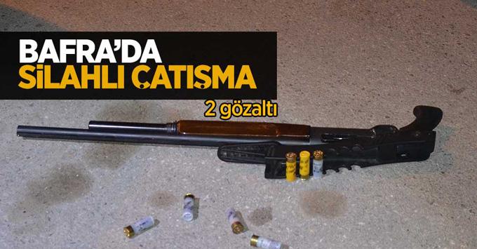 Silahlı çatışma: 2 gözaltı
