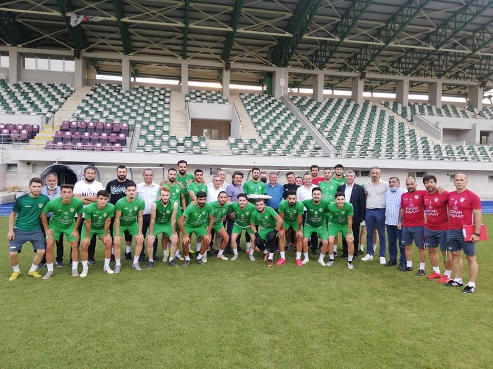 Yeni Amasyaspor umuza 3. Ligde Başarılar