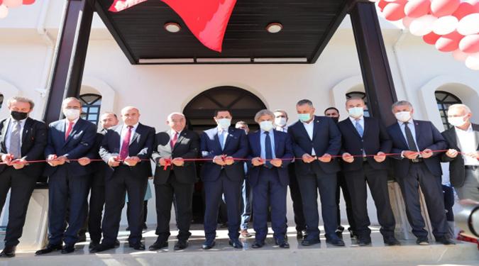 Saradüzü Kışla Binası Halk Kütüphanesi olarak Açılışı Yapıldı...