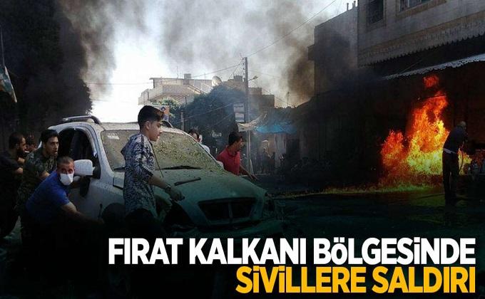 Fırat Kalkanı bölgesinde sivillere saldırı