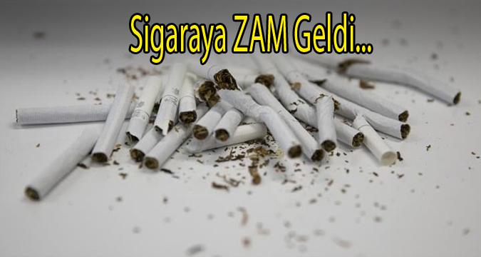Sigaraya Zam Geldi... Zamlar Peş Peşe Geliyor...