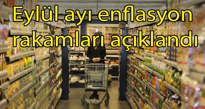 Türkiye İstatistik Kurumu (TÜİK), eylül ayı Tüketici Fiyat Endeksi'ni açıkladı.