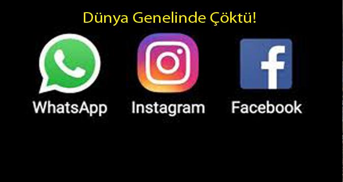 Facebook, Instagram ve WhatsApp sosyal medya çökme sebebi belli oldu...