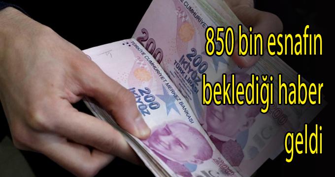 850 bin esnafa muafiyet getirecek Vergi Kanunu teklifi Komisyon'da kabul edildi