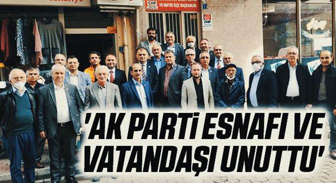 CHP Samsun İl Başkanı Türkel: 'AK Parti esnafı ve vatandaşı unuttu'