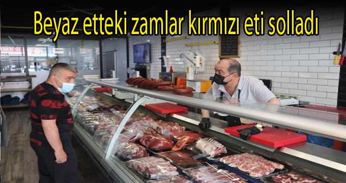 Beyaz etteki zamlar kırmızı eti solladı