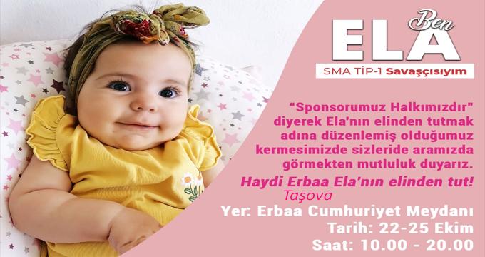 Ela Bebek Maddi Manevi Desteklerinizi Bekliyor