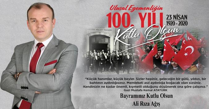23 Nisan, 100.YIL kutlama - Ali Rıza AĞIŞ