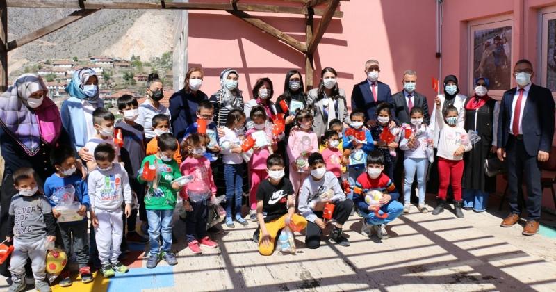 23 Nisan Etkinlikleri Kapsamında Sevgi Evleri Ziyaret Edildi