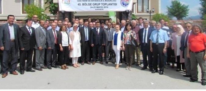 45. Birleştirilmiş Bölge Grup Toplantısı Karabük'te Gerçekleşti